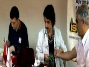 İSPARK'tan Türk Kızılay'ına Kan Desteği