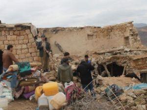 Siirt'te 2 katlı ev çöktü
