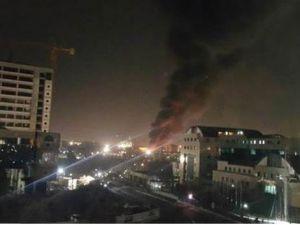 Ankara'daki patlamanın video görüntüleri