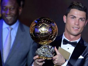 2013 FIFA Ballon D'or Ronaldo'nun
